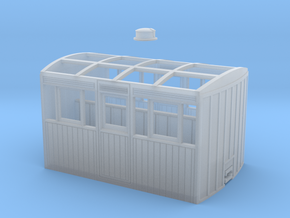 FR Bug Box (matchboard) in Smooth Fine Detail Plastic