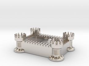 Castle (All Materials) in Platinum