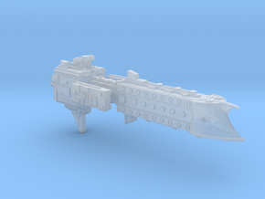 'BFG' Terran Scimitar Class Escort Ship in Frosted Ultra Detail
