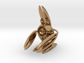 Lobsterbunny in Polished Brass
