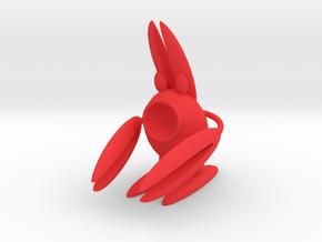 Lobsterbunny in Red Processed Versatile Plastic