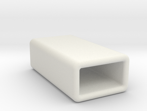 Jawbone UP24/UP sleeve in White Natural Versatile Plastic