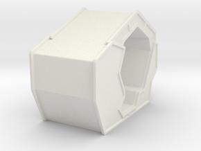 Arcade Machine (Starwars Flight-Sim) in White Natural Versatile Plastic