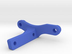 Team Associated 4-Gear Transmission Fan Mount in Blue Processed Versatile Plastic