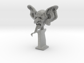 Devil Head  in Metallic Plastic