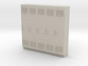 Standard Scale Lockers in Natural Sandstone