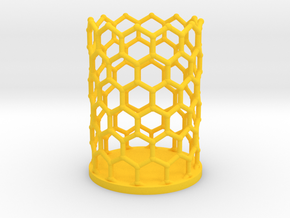 Pencilcup nanocarbon in Yellow Strong & Flexible Polished