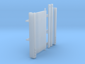 1/50th Truck Trailer Lift Gate in Smooth Fine Detail Plastic