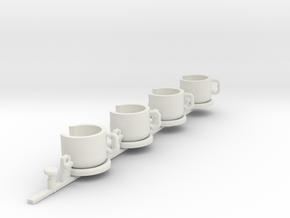 Sellnerspinteacupstest in White Natural Versatile Plastic