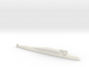 Delta Class SSBN, 1/1800 in White Natural Versatile Plastic