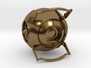 Wheatley from Portal 2 in Polished Bronze