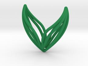 sWINGS Big, Pendant. in Green Processed Versatile Plastic