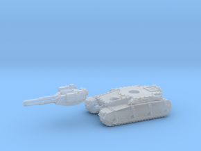 Irontank medium turret (2 piece) in Frosted Ultra Detail