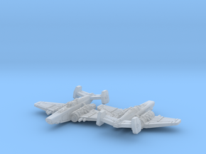 Fighter Squadron in Smooth Fine Detail Plastic