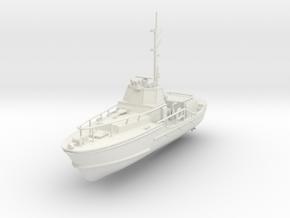 1/87 USCG 44 Foot Motor Lifeboat in White Natural Versatile Plastic