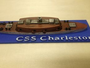 1/600 CSS Charleston in Black Natural Versatile Plastic