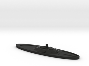 1/600 CSS Virginia II in Black Natural Versatile Plastic
