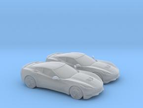 1/160 2X 2014 Chevrolet Corvette Stingray in Smooth Fine Detail Plastic