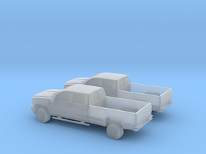 1/160 2X 2015 Chevrolet Silverado Long Bed in Frosted Ultra Detail