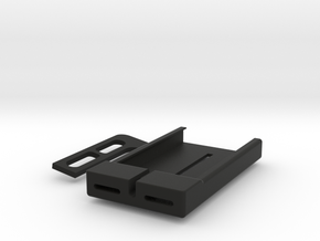 iPhone4S Holder For Laptop Display in Black Natural Versatile Plastic