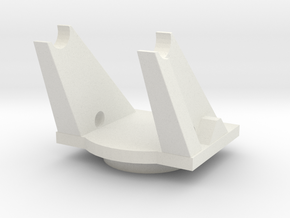 turntable (repaired) in White Natural Versatile Plastic