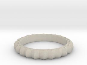 Geometric pattern ring(Japan 10,USA 5.5,Britain K) in Natural Sandstone