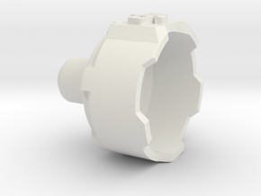Phantom 3 Motor Cover - 1 Piece in White Natural Versatile Plastic