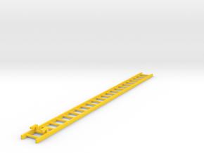 Corgi ladder 14.55cm - American La France  in Yellow Processed Versatile Plastic