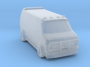 A-team style van ver 3 in Smoothest Fine Detail Plastic