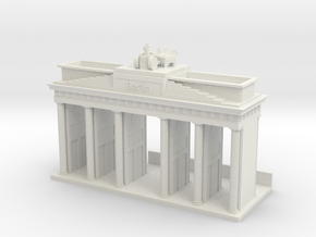 Brandenburger Gate / Pen and Cards in White Natural Versatile Plastic