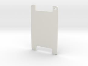 Elastic Hairband Holder in White Natural Versatile Plastic