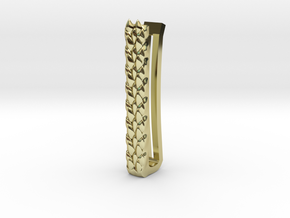 Dragon Scale Tie-bar in 18k Gold