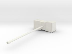 Hammer in White Natural Versatile Plastic