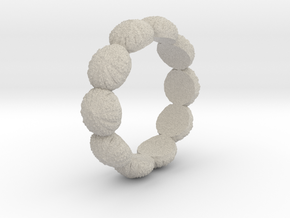 Urchin Ring 1 - US-Size 6 (16.51 mm) in Natural Sandstone