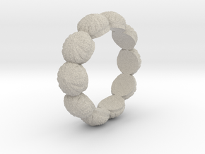 Urchin Ring 1 - US-Size 3 (14.05 mm) in Natural Sandstone