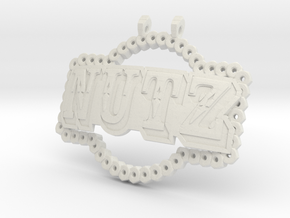 Camp NuTz in White Natural Versatile Plastic