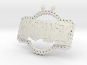 Camp NuTz in White Natural Versatile Plastic