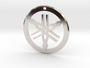 Yamaha Pendant in Platinum