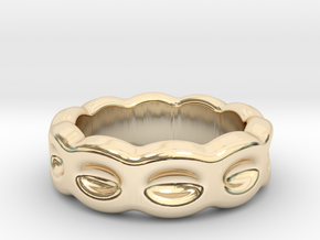 Funny Ring 20 - Italian Size 20 in 14K Yellow Gold
