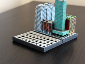 Empty Baseplate 8 x 4 in Full Color Sandstone