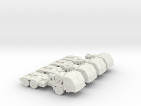 BAZ 64022 6mm Section Low Res in White Natural Versatile Plastic
