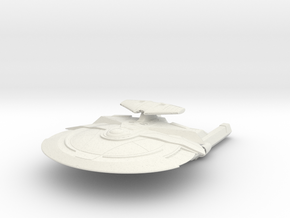 MoonWolf Class B BattleCruiser in White Natural Versatile Plastic