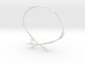 Ivy Bracelet in White Natural Versatile Plastic