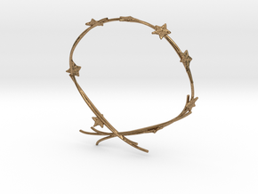 Ivy Bracelet in Natural Brass