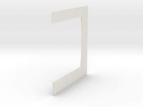 A-nori-tall-wh-doors-bricks-sheet2a 1/76 scale in White Natural Versatile Plastic