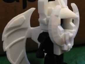 Necro Lizard Wings in White Natural Versatile Plastic