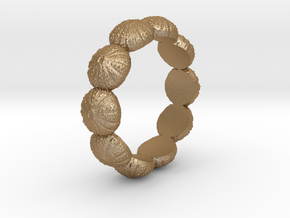 Urchin Ring 1 - US-Size 12 1/2 (21.89 mm) in Matte Gold Steel