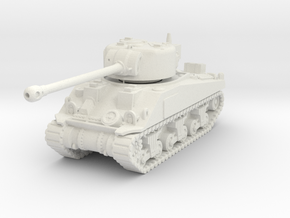 1/100 (15mm) M4 Sherman Firefly (F.O.W) Tank Five in White Natural Versatile Plastic