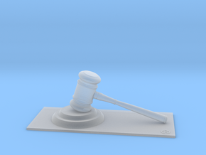 Judge (Personalize with your name !) in Smooth Fine Detail Plastic