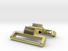 Model 1624 (metal) G-Shock adapter in 18k Gold Plated Brass